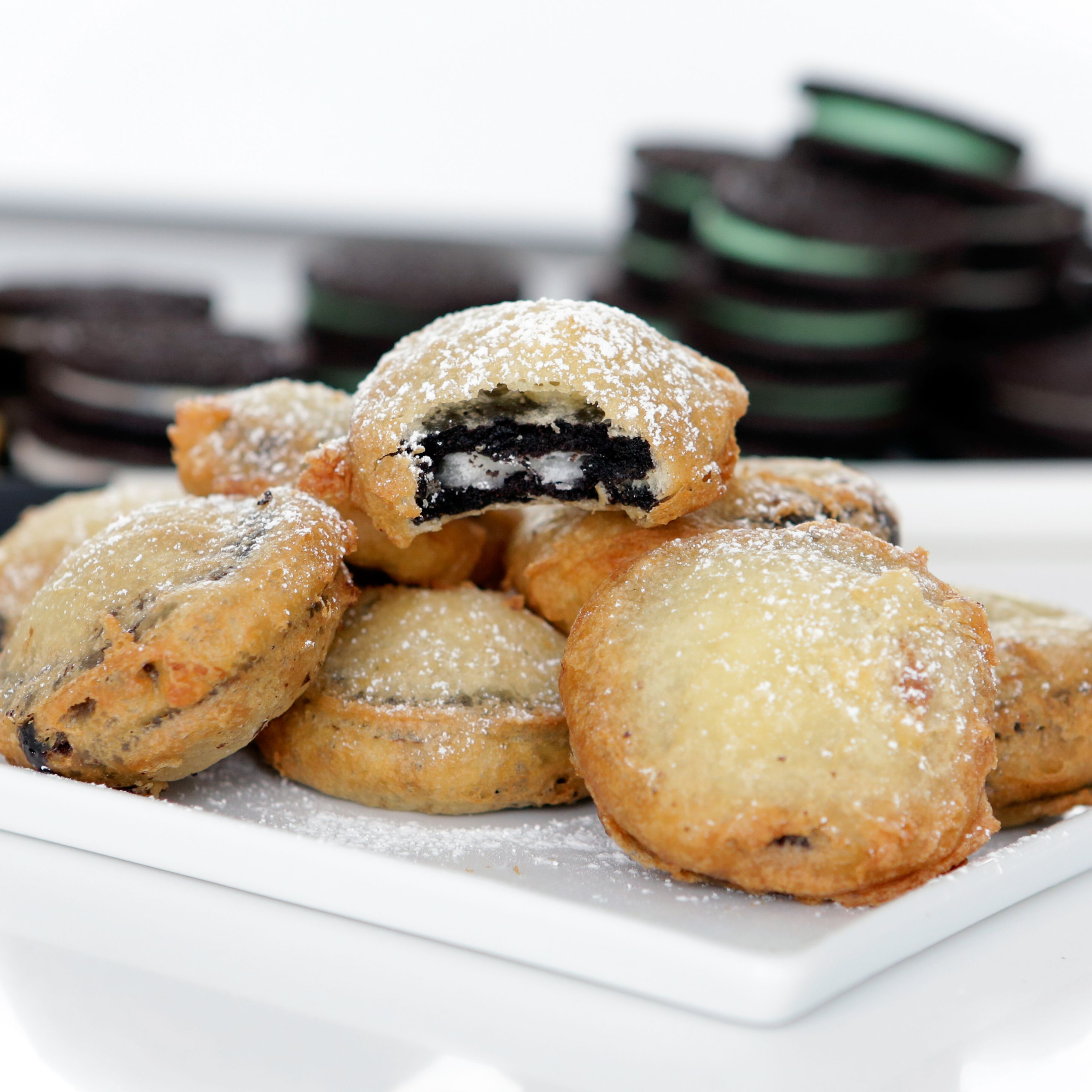 Image result for oreo surprise fried