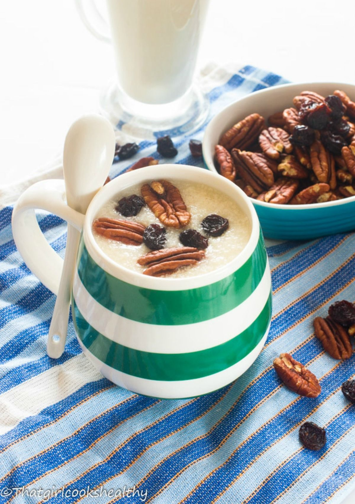 Creamy millet porridge recipe vegan gluten free