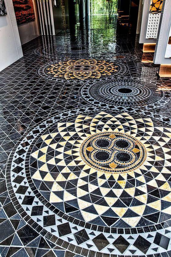 Beautiful Mosaic Of Tiles Mosaic Mosaic Tiles Glass