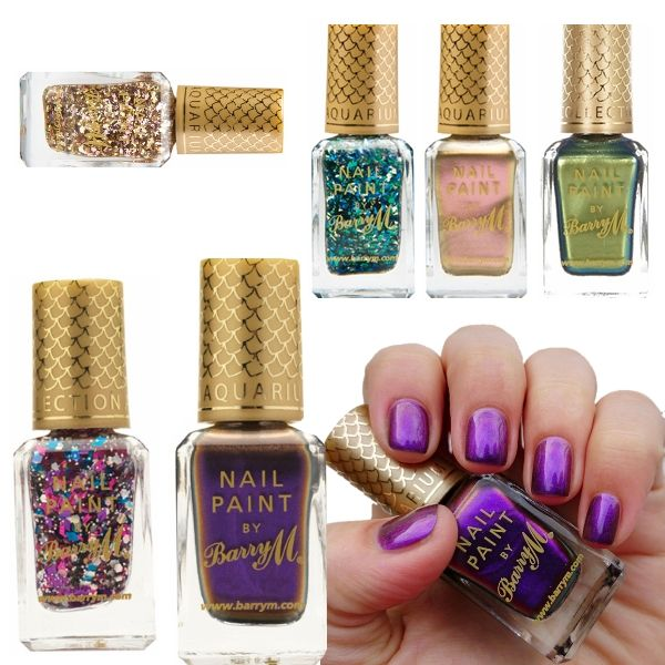Barry M MakeUp - Nail Paint Nail Varnish Aquarium Collection Colours ...