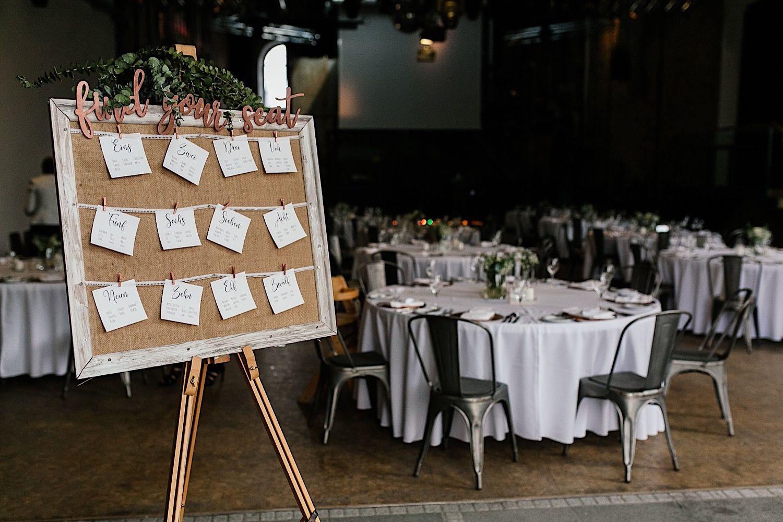 Sitzplan Fur Eine Industrial Wedding Hochzeitslocation Dekoration Hochzeit Sommerhochzeit