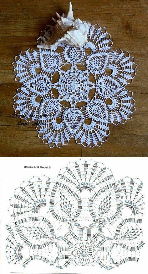 одноклассники Ubrus Pinterest Crochet Crochet Doilies Und Doilies