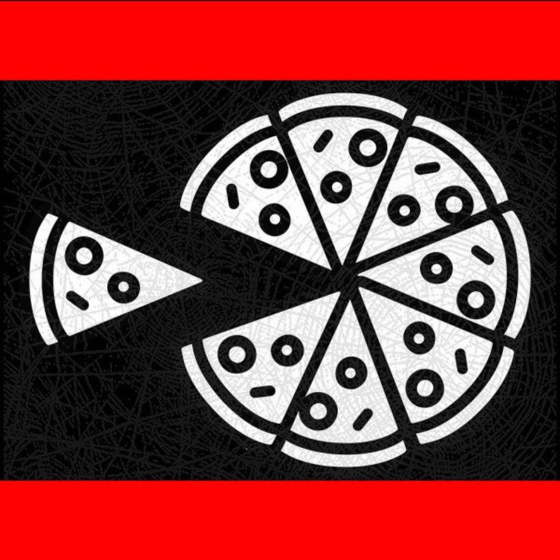 Pizza Svg Eps Png cut file, Pizza slice Svg, Pizza
