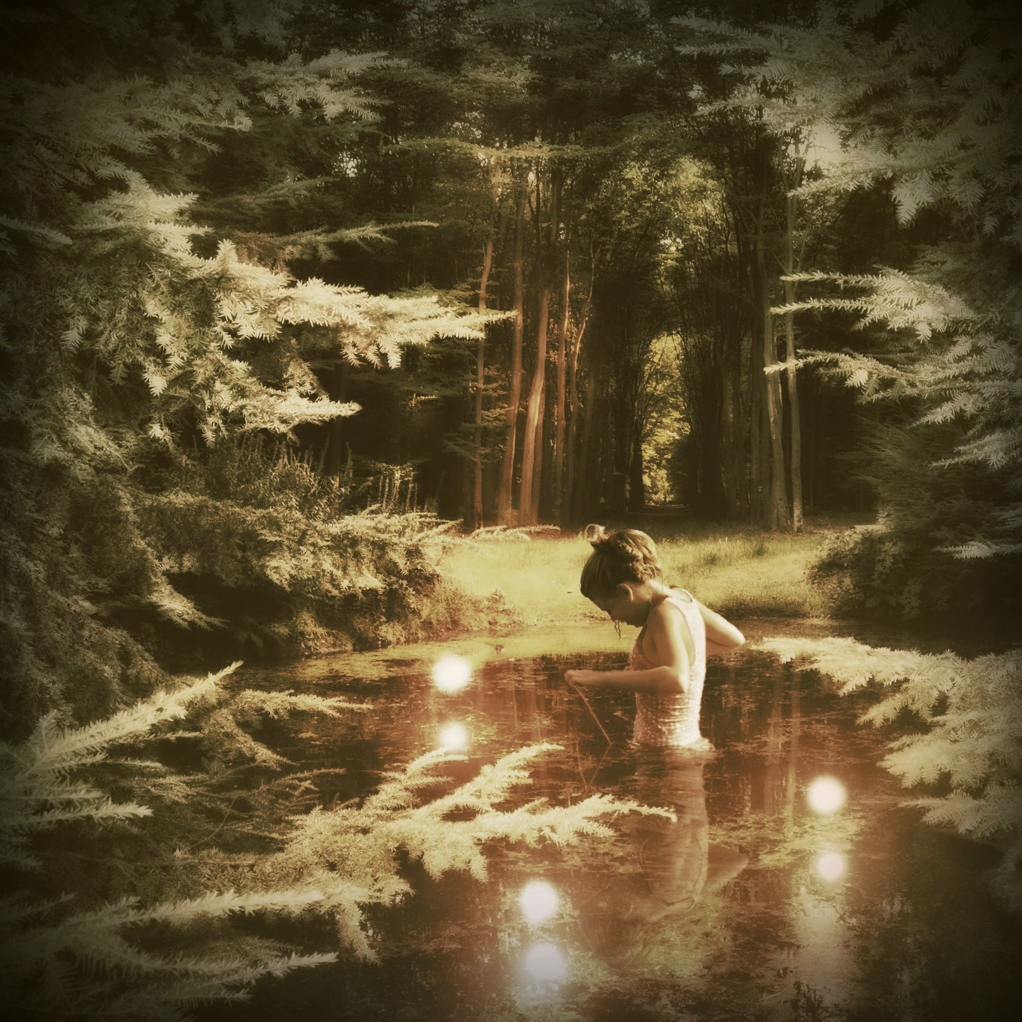 Dip in the pool of darkness. Don't be afraid, you may cleanse your soul in here..