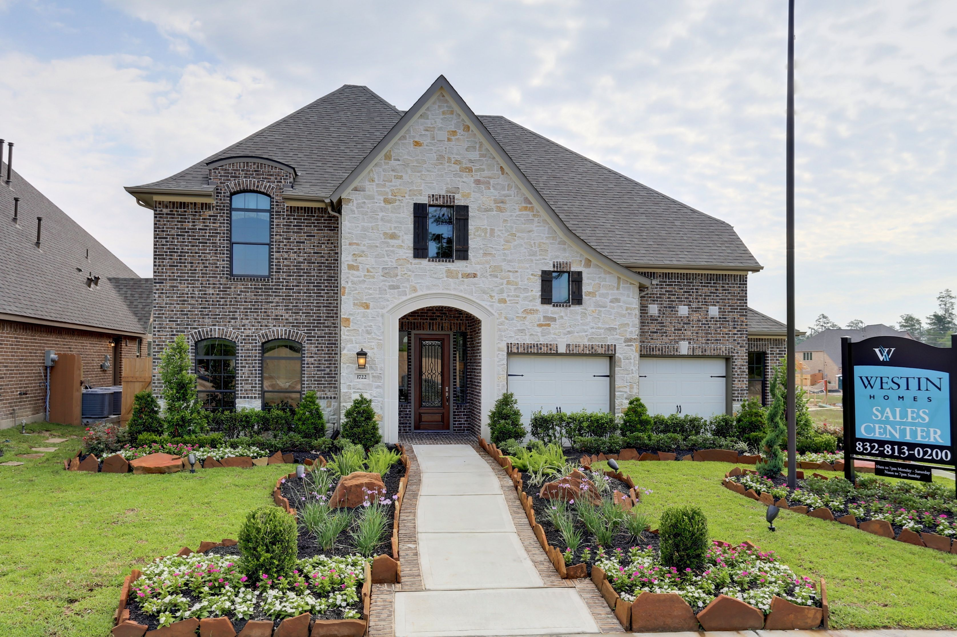 The new westin homes model in the master planned community of harmony spring tx 77386 the for Westin homes design center houston