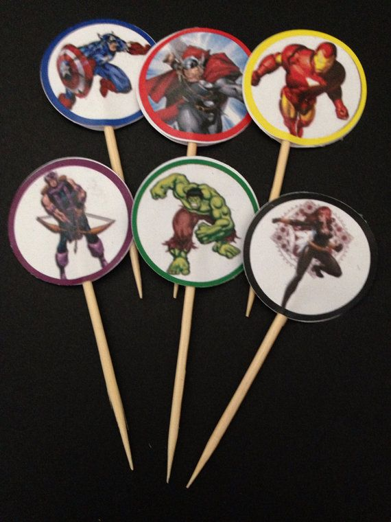 the-avengers-cupcakecake-toppers-15-pcs