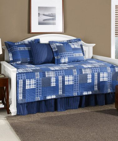 Eddie Bauer Navy Eastmont Daybed Set Zulily Daybed Sets Daybed Bedding Sets Daybed Cover Sets