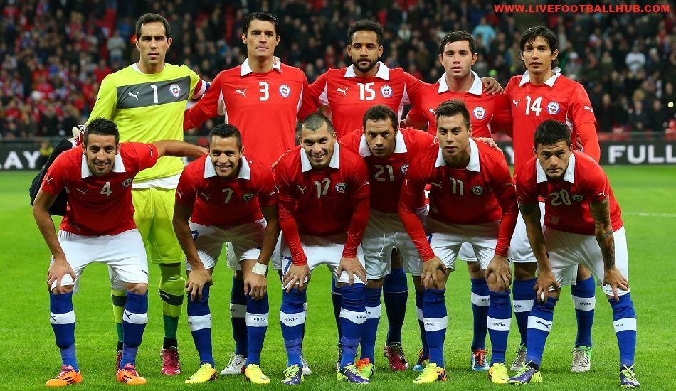 Daftar Pemain (Skuad) Chile Copa America 2016 Chile, Juara