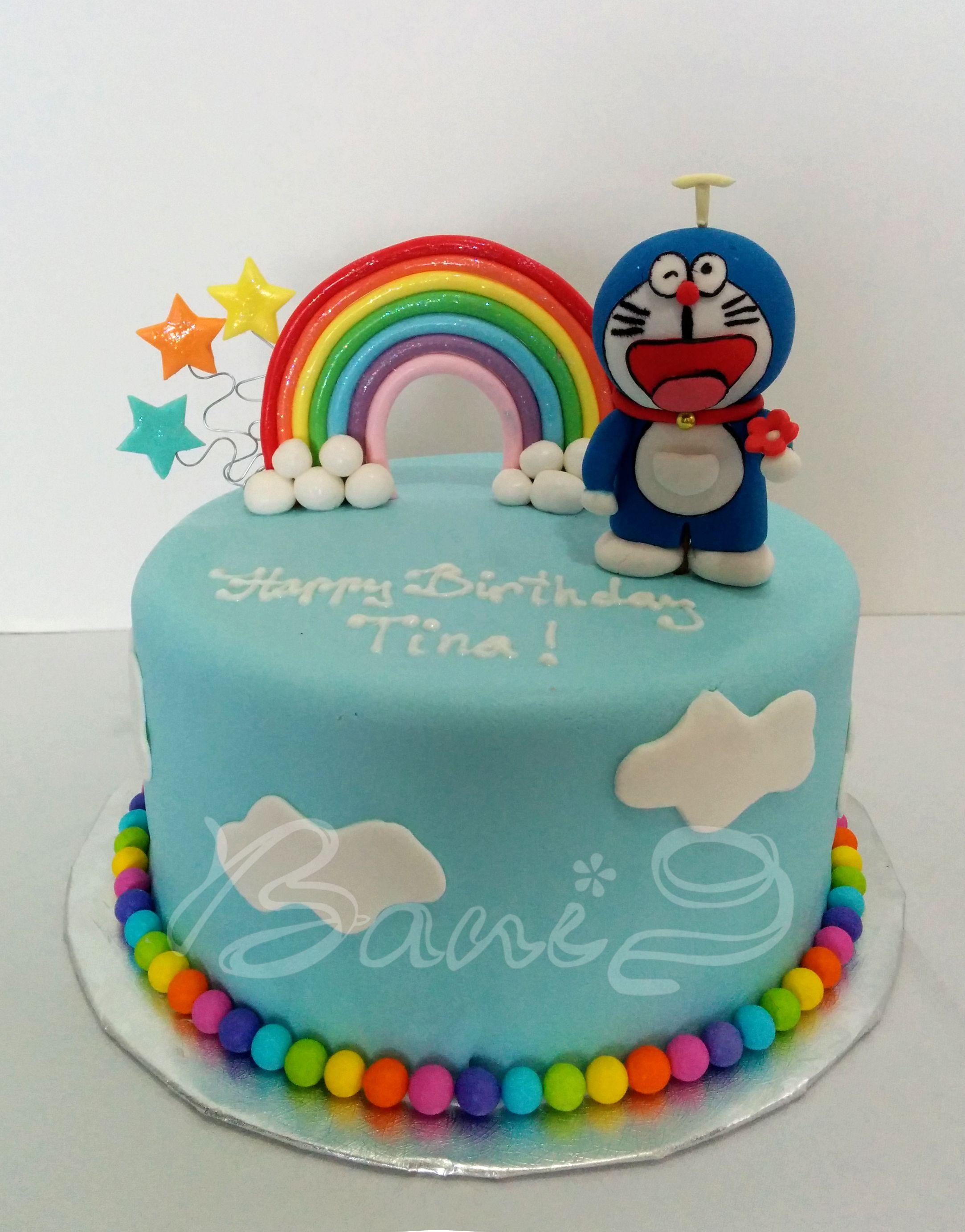 Doraemon cake DORAEMON More Pins Like This At FOSTERGINGER ... Dora Cake Doraemon
