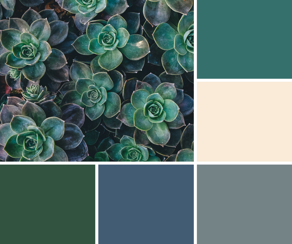 Living Room Ideas · Tan, Teal, Gray, Blue, And Hunter Green Hues For A  Calming Atmosphere Part 71
