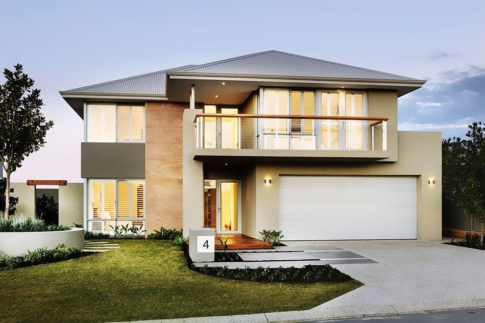 diseño de casas modernas de dos pisos   Marco   Pinterest