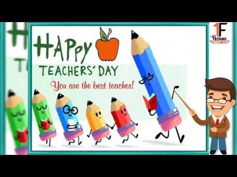 Happy Teachers Day Best Shayari Status Video 2020 Teachers Day Whatsapp Status Video 2020 Youtube In 2020 Teachers Day Happy Teachers Day Teacher