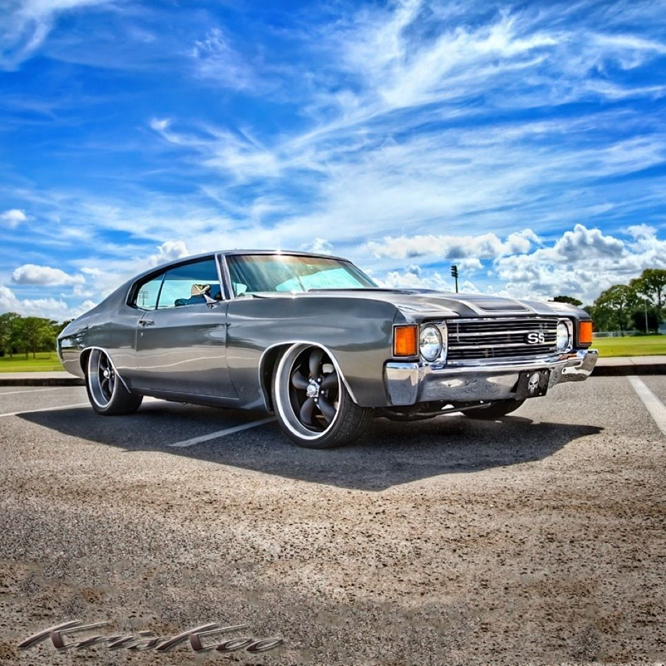 55 Best Badass Chevelles Images On Pinterest: '72 Chevy Chevelle SS