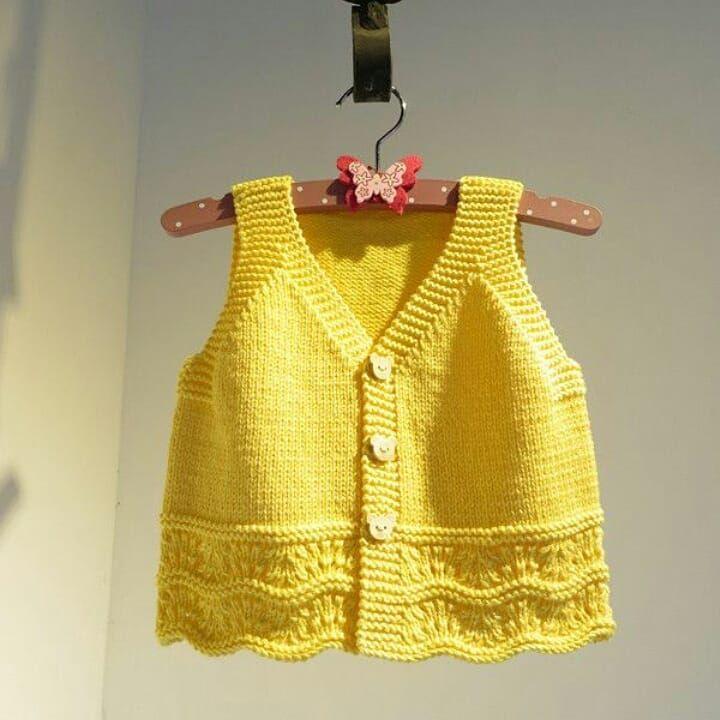Afghans Crochet – 1 parte do vestido de bebê com pérolas Eliete Massi