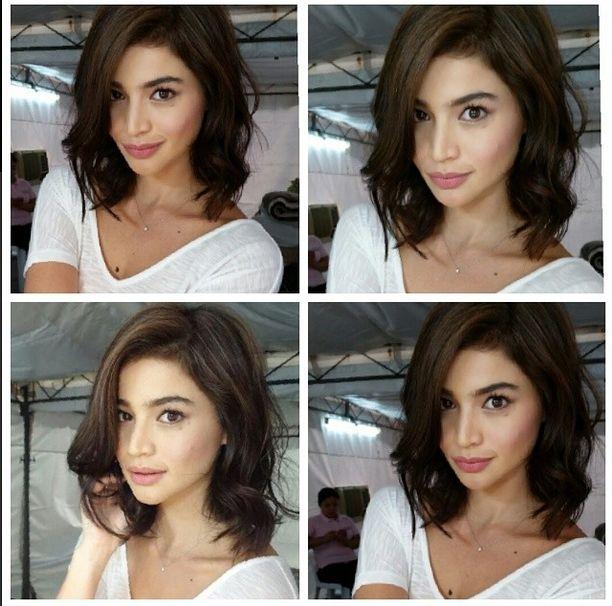 Anne Curtis Short Curly Hair Short Hair Styles Curly Hair