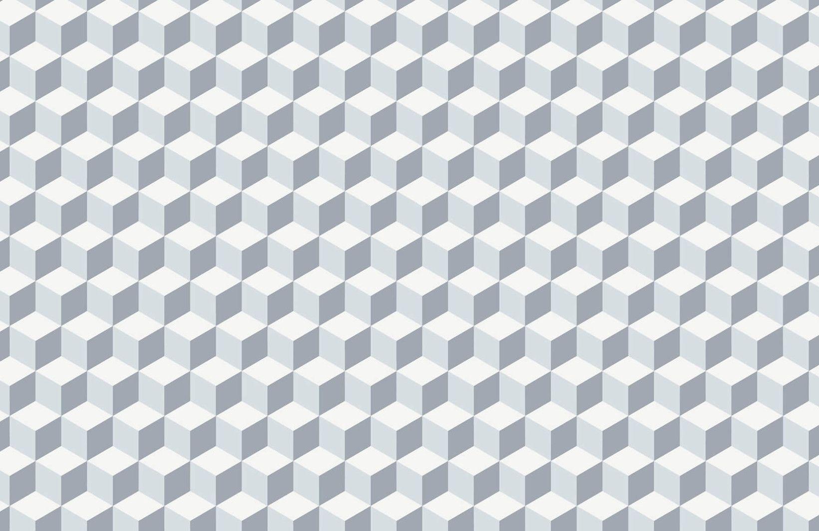Geometric 3d Cube Wallpaper Mural Cube Pattern Muralswallpaper 3d Cube Wallpaper Cube Pattern Geometric 3d