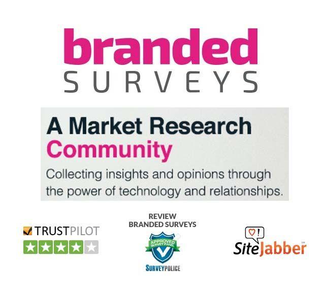 Branded Surveys known formally as Mintvine  Take surveys and