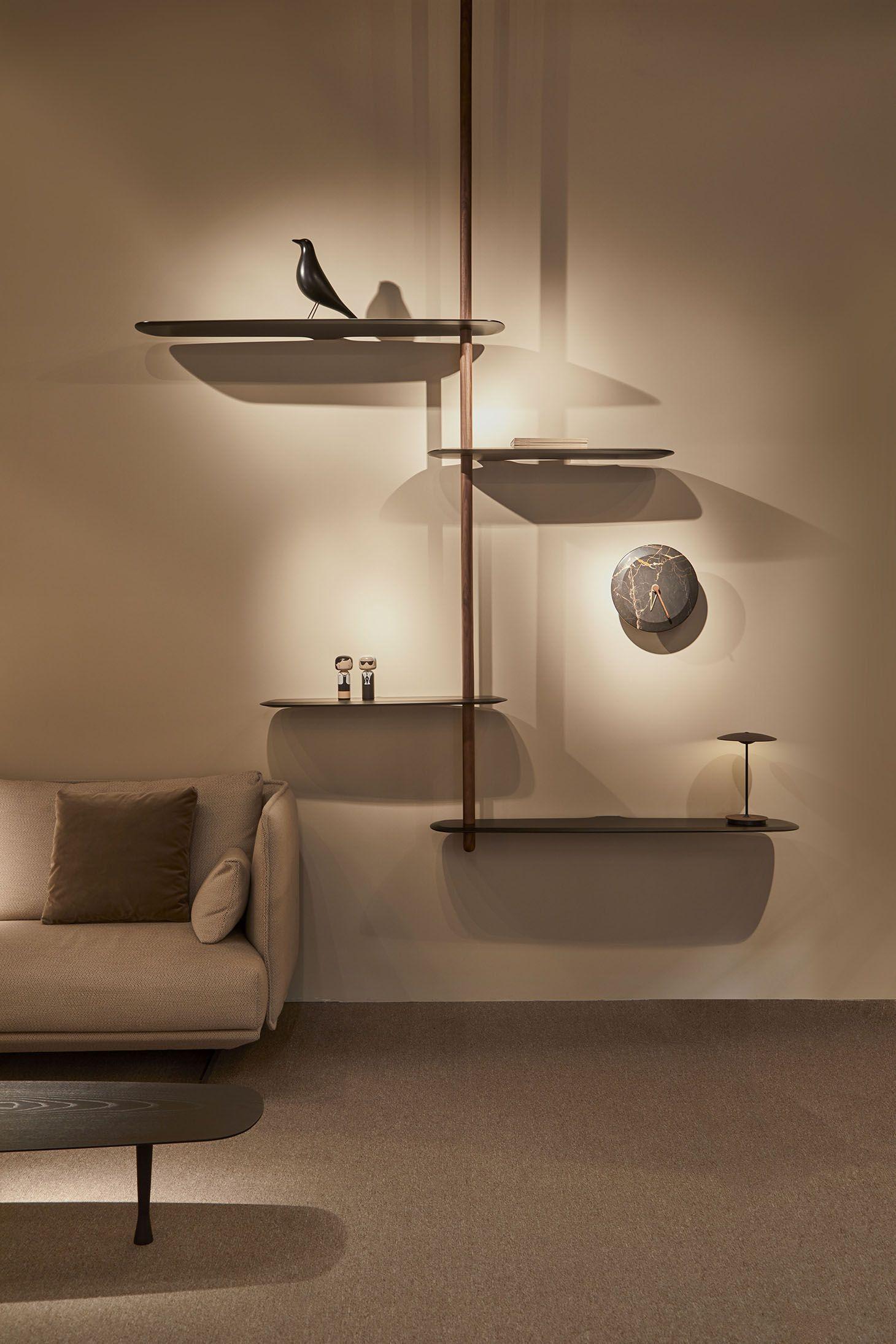 Solid Walnut In 2020 Furniture Design Modern Shelving Design Home Room Design #wall #shelves #design #for #living #room