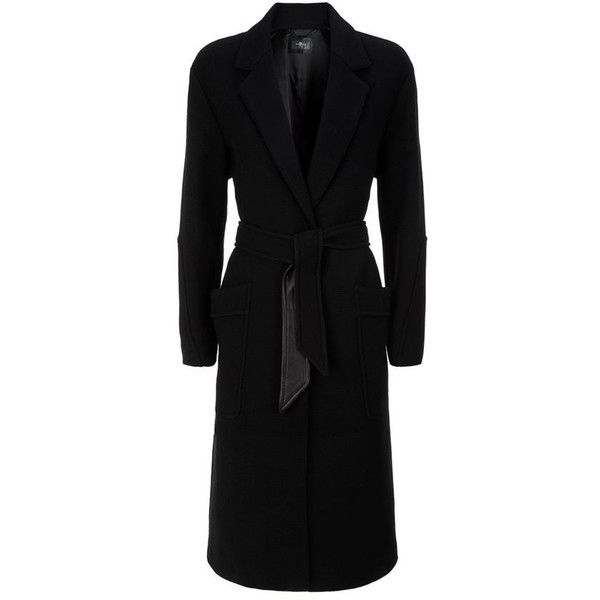 7 For All Mankind Duster Coat (196.960 HUF) ❤ liked on Polyvore featuring outerwear, coats, casaco, 7 for all mankind coat, 7 for all mankind, duster coats and wool blend coat