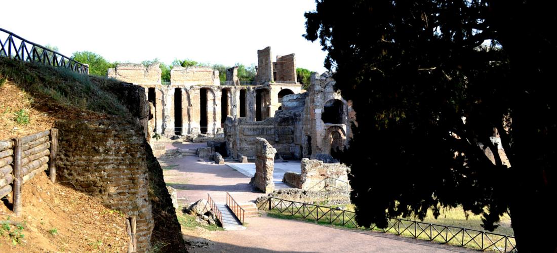Villa Adriana, em Tivoli, uma declaração de amor à beleza da Grécia antiga