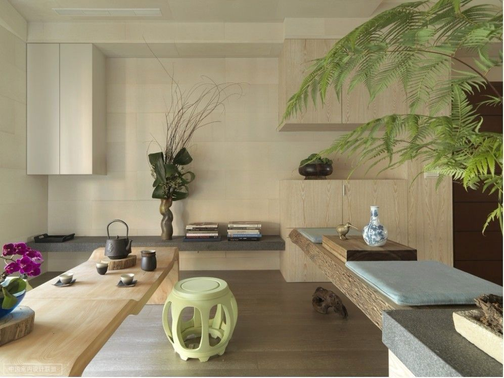 Modern Minimalist Asian Style Interior Designing By Wu Chengxian