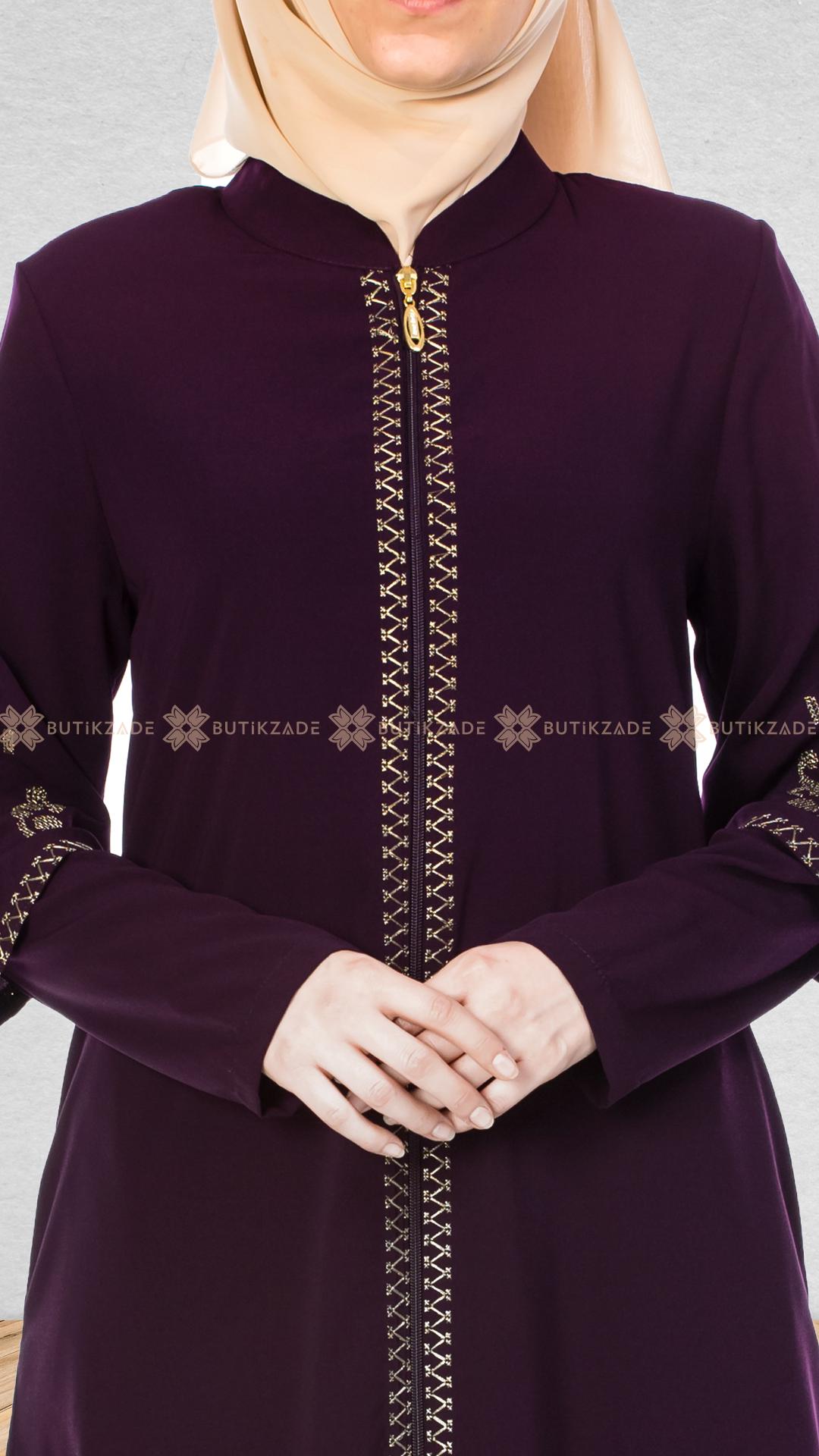 Kanavice Nakisli Murdum Ferace Fashion My Style Abaya