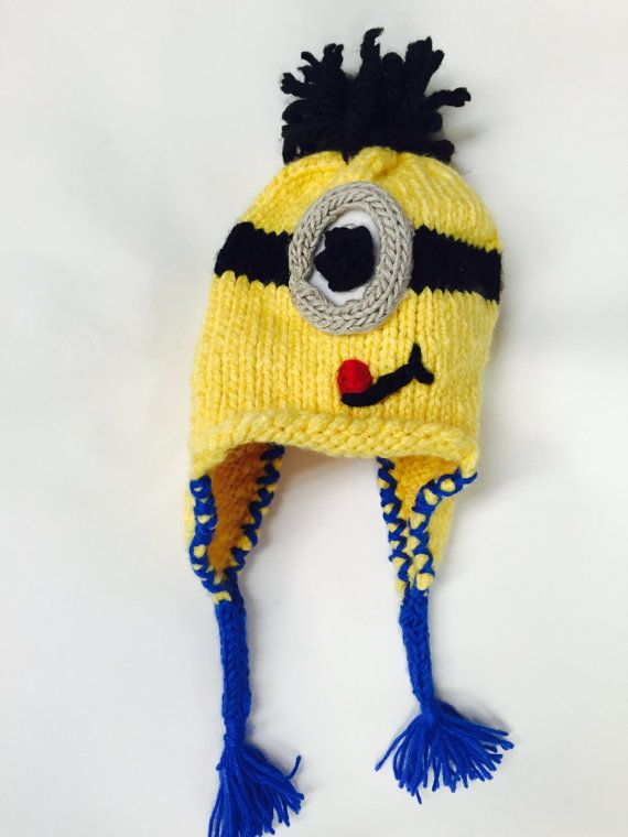 Pin By Clare Goodman On Disney Crochet Pinterest Minion Hats