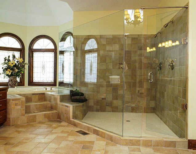 Great Shower Enclosureryan's Allglass#housetrends Http Brilliant Dayton Bathroom Remodeling 2018