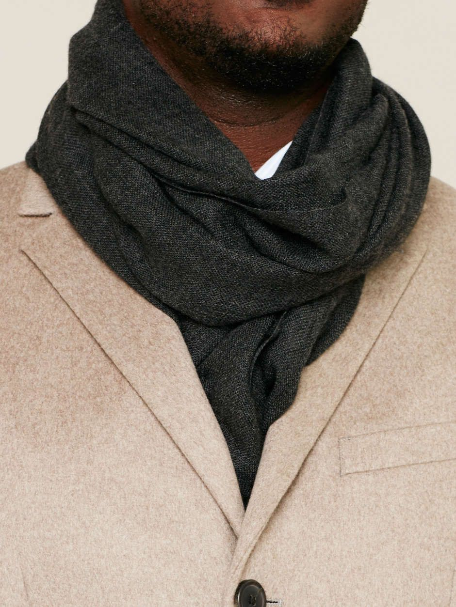 HOW TO WEAR A SCARF The Once (or Twice) Around Simply
