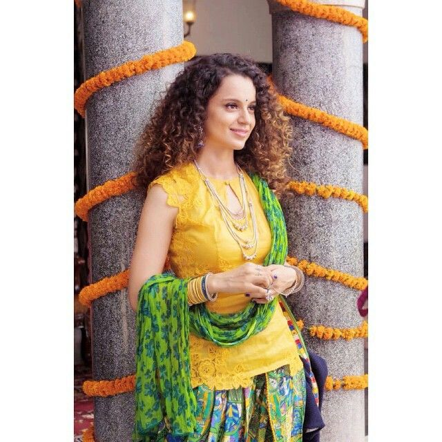 Still From Tanu Weds Manu Returns Exclusive Dress Stylish Dresses Indian Designer Wear