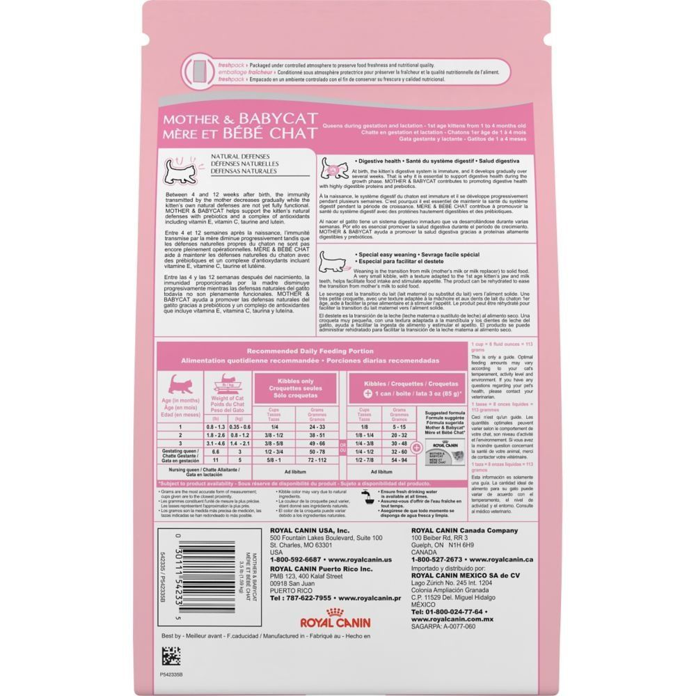 Royal Canin Feline Health Nutrition Mother And Babycat Dry Cat Food 3 5pound Click Image To Review More Details Feline Health Dry Cat Food Cat Nutrition