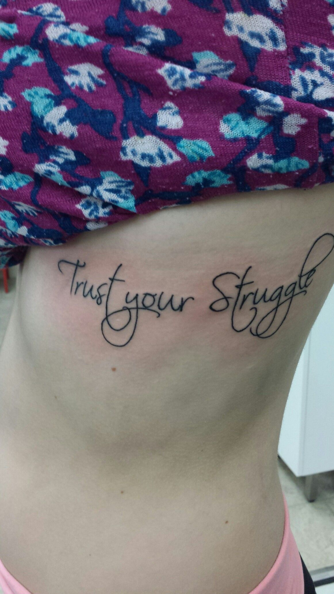 My Tattoo Trust Your Struggle Inspired By The Lotus Flower The