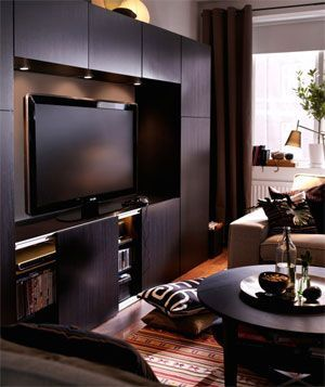 1000+ images about tv wall on Pinterest | TVs, Tv units and Built ...