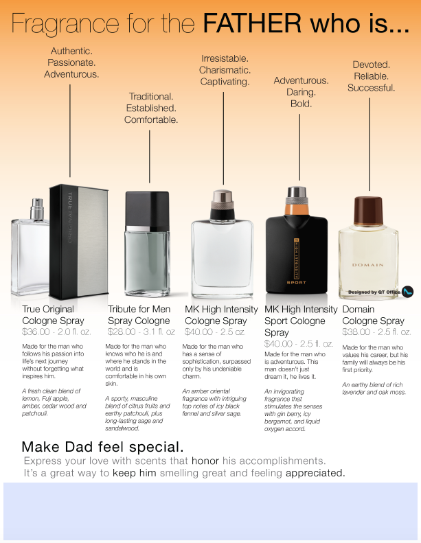 Mary Kay® Father's Day Fragrance Flyer
