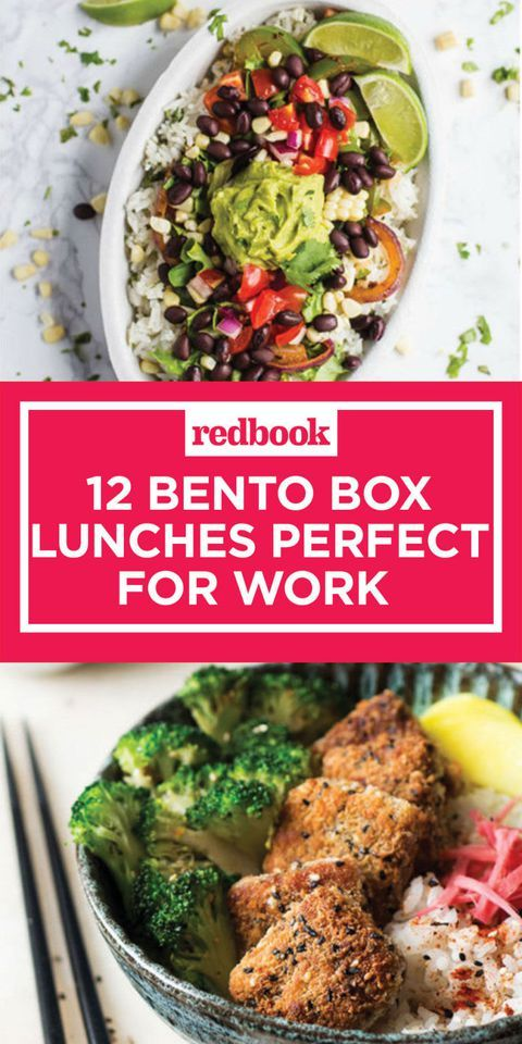 12 Bento Lunch Recipes That Will Make Your Co-Workers Jealous images