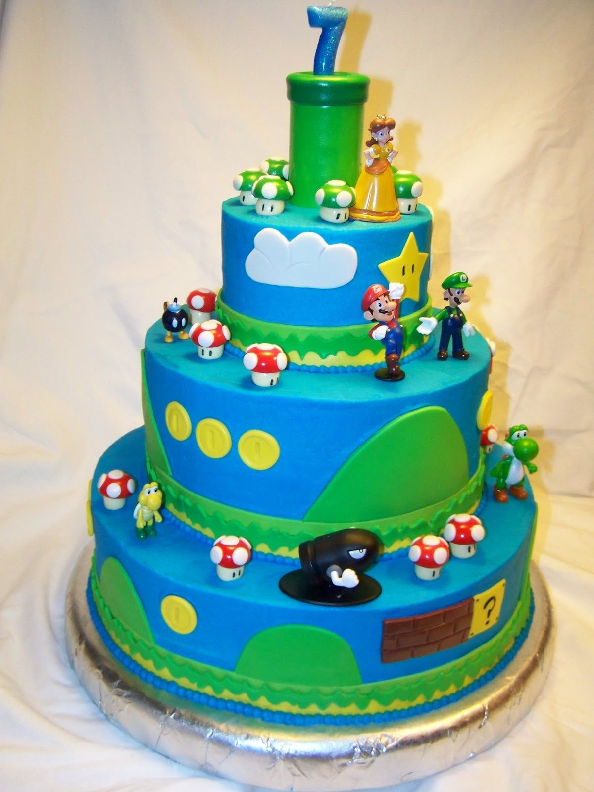 Super Mario Cake Recipe Ideas Mario Cake Ideas Pinterest Mario