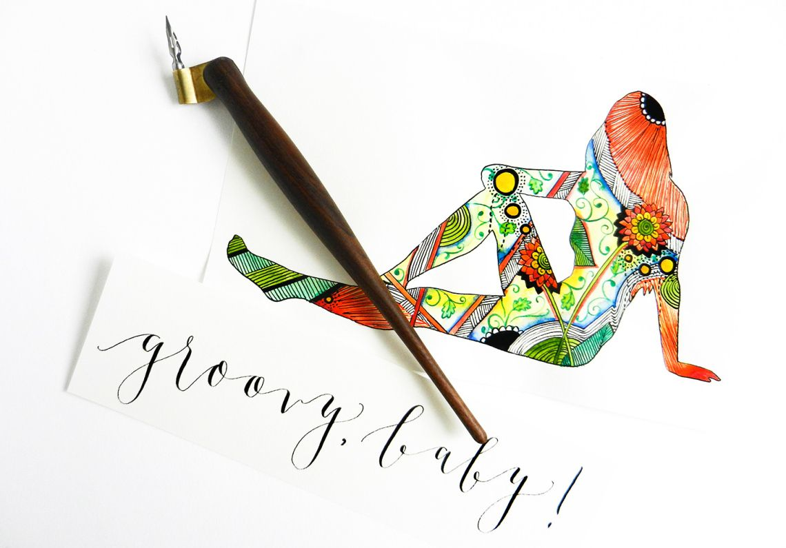 5 Calligraphy Variation Techniques A Surprise Worksheet
