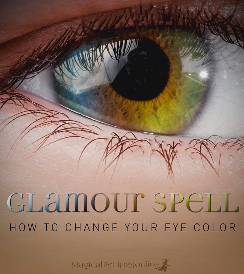 Change Eye Color Permanently Spell