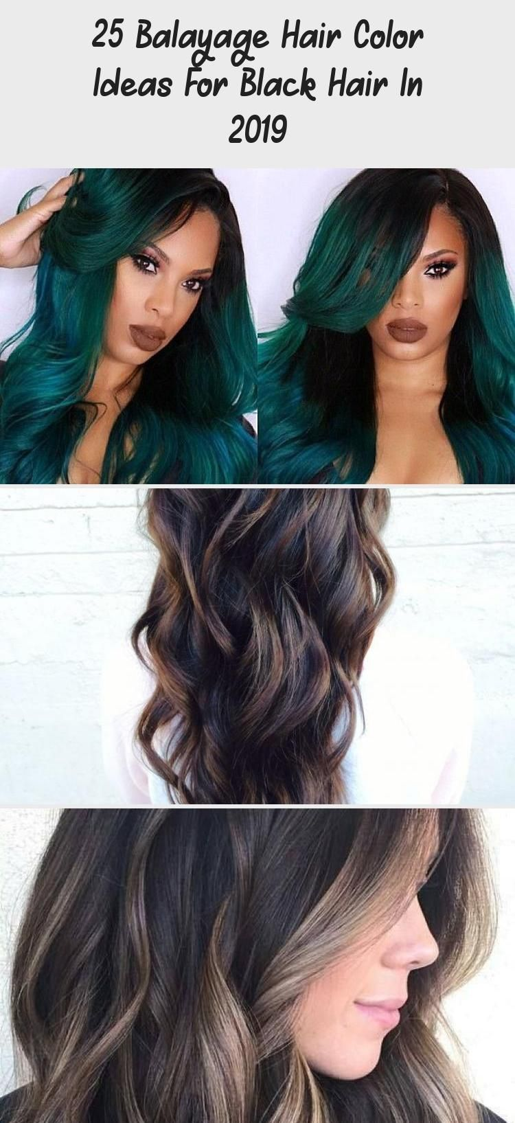 9 Balayage Hair Color Ideas For Black Hair In 9, Balayage ...