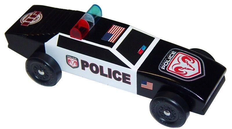 Super+Mario+Pinewood+Derby+Car | Turbo Cop Police Car Pinewood Derby