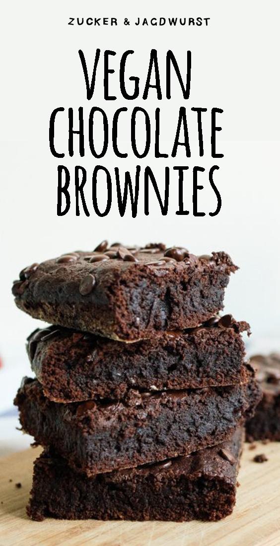 Vegan Chocolate Brownies | Posted by: DebbieNet.com #chocolatecake