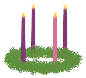 Need A Vector Illustration Of An Advent Wreath Wreath Illustration Advent Wreath Vector Illustration