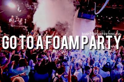 Foam Parties Tumblr