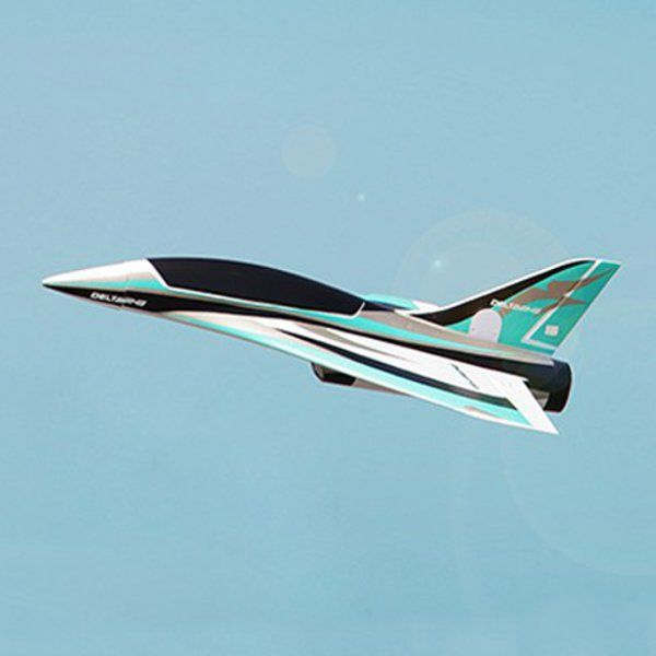 Blackbird 550mm Wingspan 50mm EDF Delta Wing Racer Jet RC Airplane