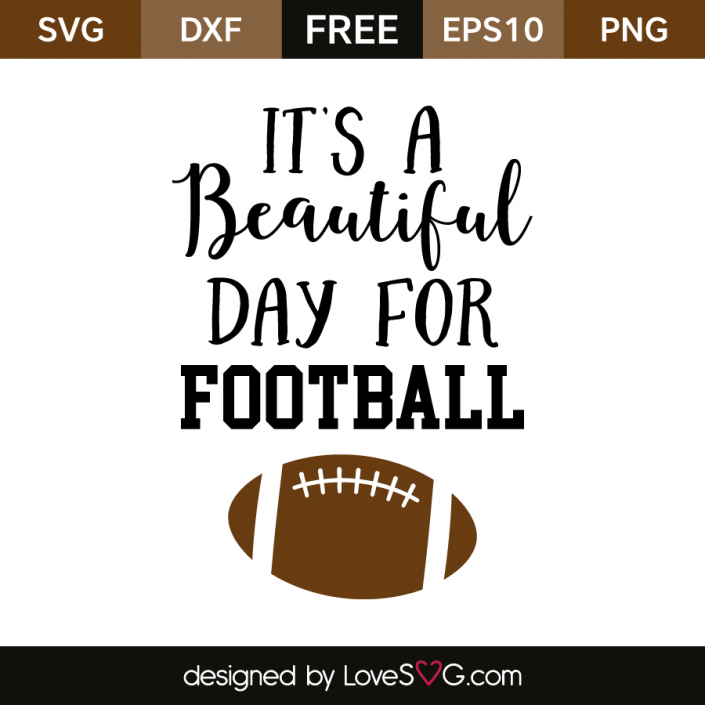 Free SVG cut file Football Sports T Pinterest
