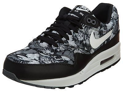 low priced 575d1 04a89 Nike Air Max 1 Gpx Mens 684174-001 Tropical Black Grey Running Shoes Size  11.5