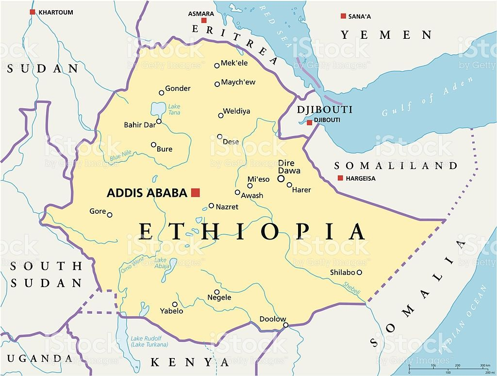 ethiopiapoliticalmapvectorid505919021 1024774 Carte de la