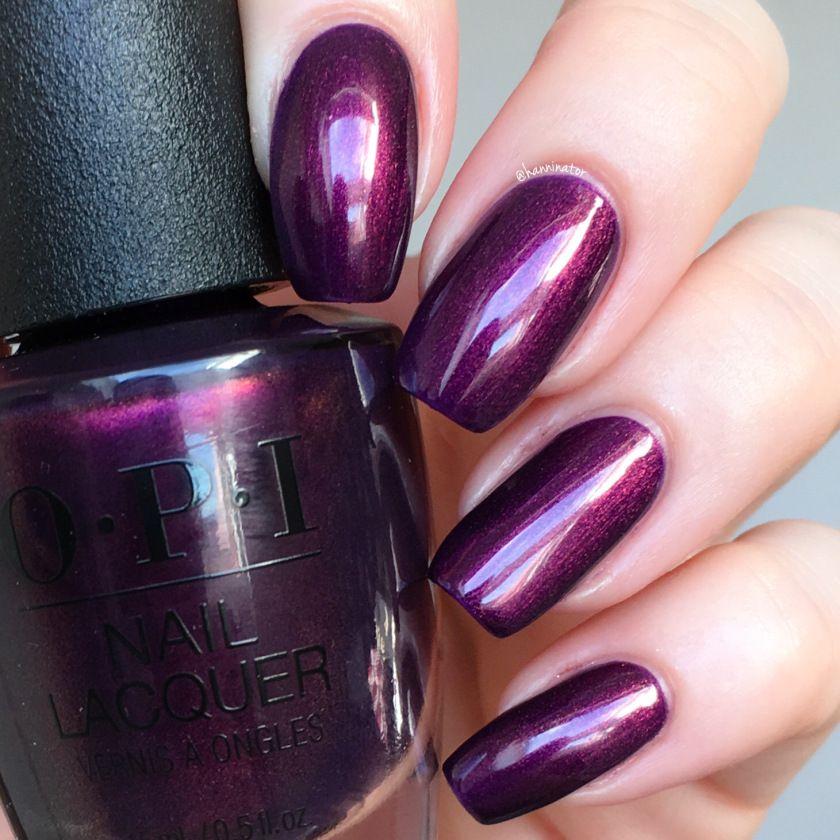 Lou Is Perfectly Polished Christmas Nails Christmas Trees: Nail Shimmer, Nail Polish, Purple Nails