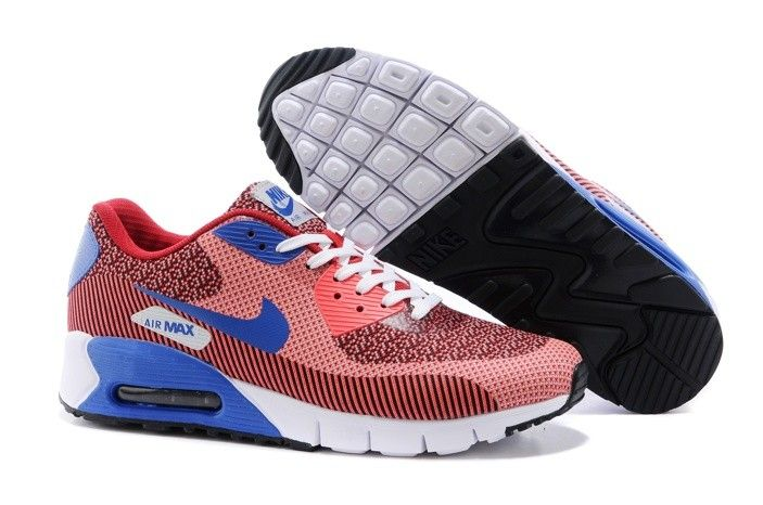 the latest f429f d42ec Cheap Cheap Nike Air Max 90 Womens Sport Shoes Orange Red Blue and New Nike  Air Max Black Purple Hot for Sale