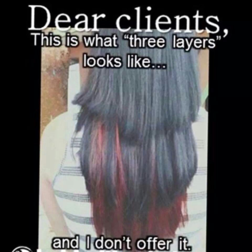 Pin By Leigh Ann Pruitt On Get Your Hair Did Hairstylist Humor Stylist Humor Hair Stylist Life
